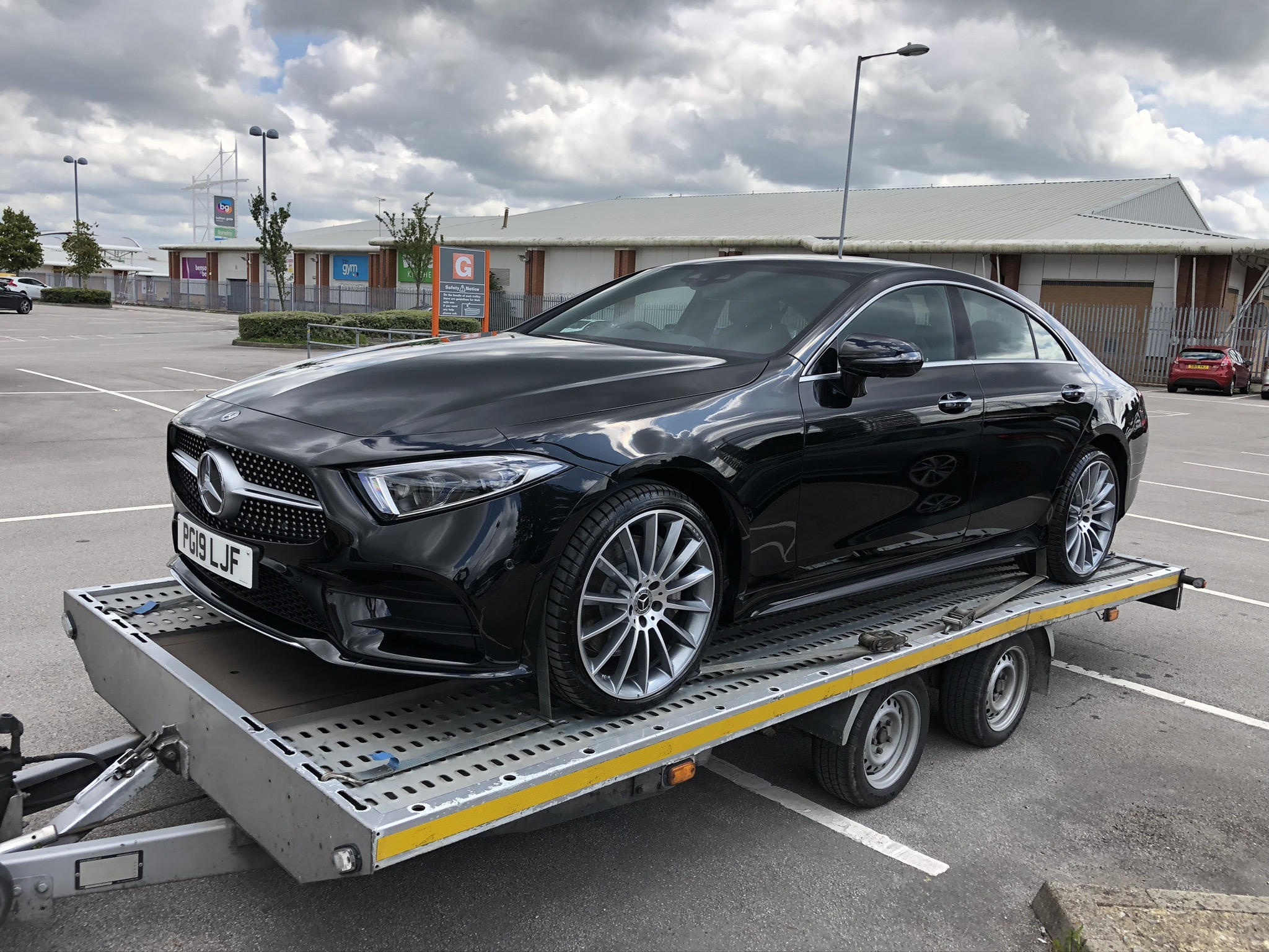 Mercedes-Benz Company Car Delivery