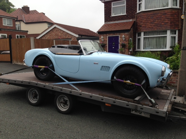AC Cobra Delivery Altrincham to Cromer