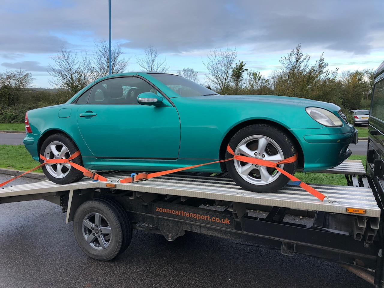 Car Collection and Delivery by Zoom Mercedes Benz SLK