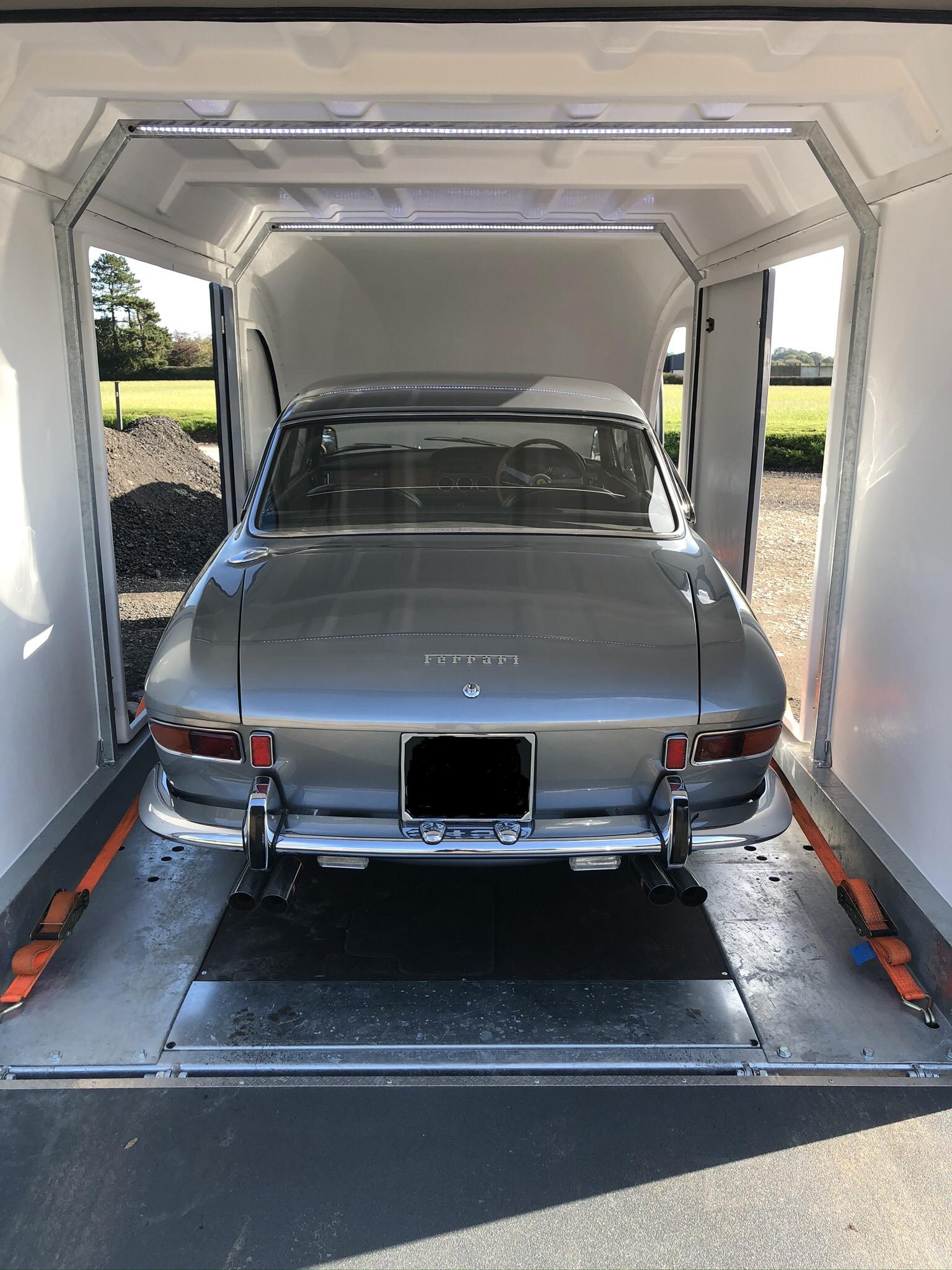 Ferrari 330 classic car transport