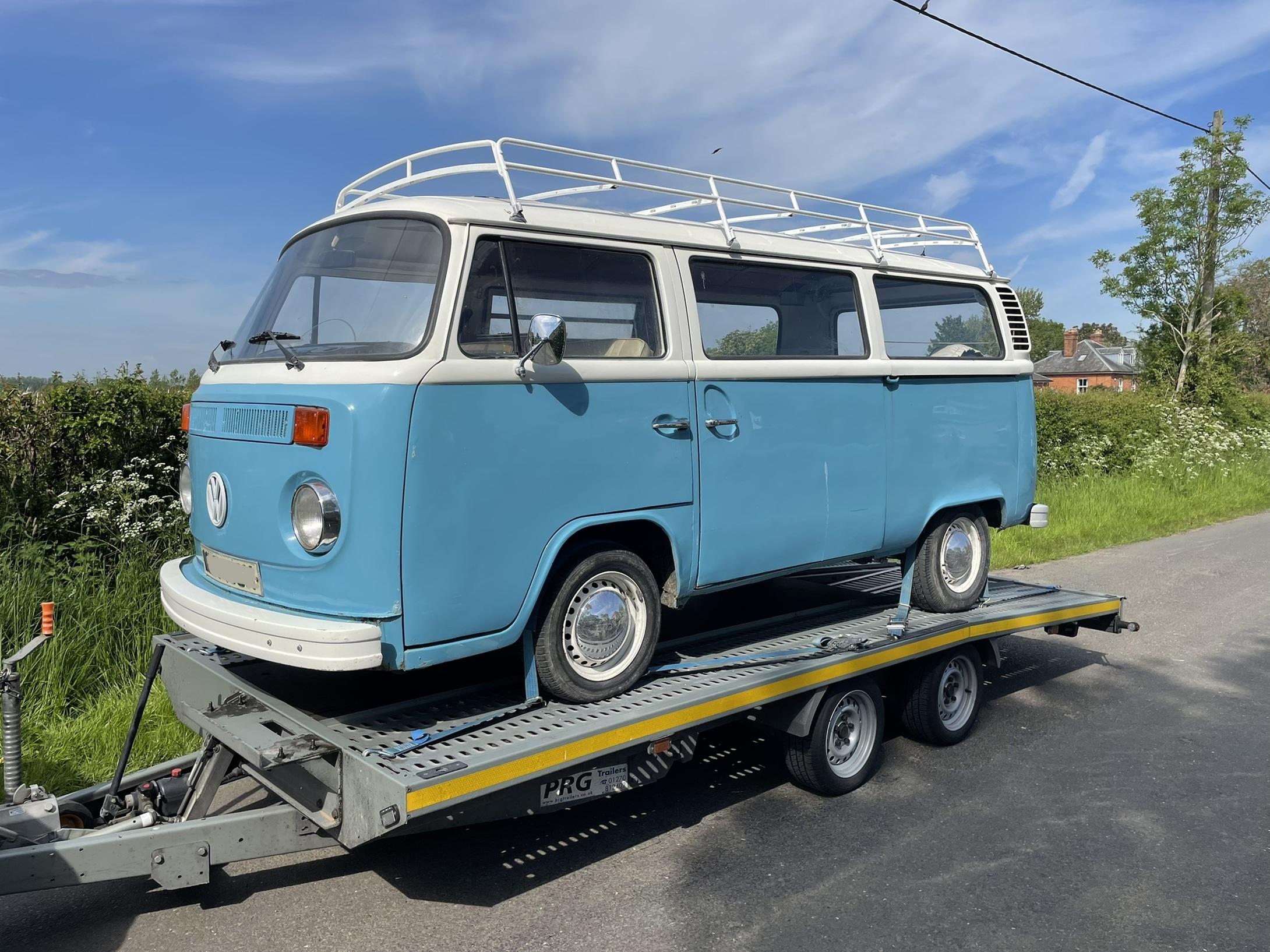 VW T2 transport