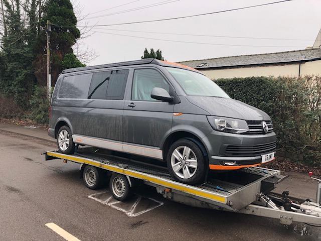 VW Transporter delivery