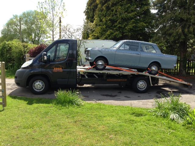 Classic Vauxhall Viva Transport