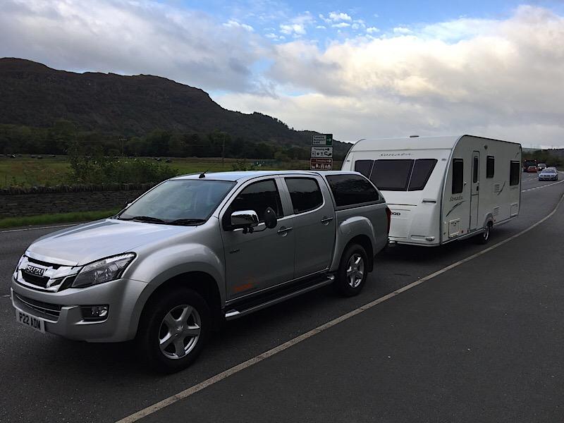 Zoom caravan delivery wales