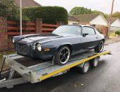 1970s Chevrolet Camaro delivery