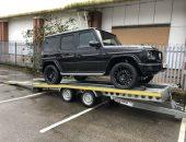 Mercedes-Benz G Wagon transport
