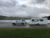 Touring Caravan collection from Bala Lake North Wales