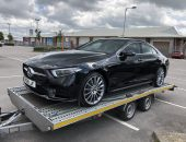 Mercedes-Benz Company Car Delivery