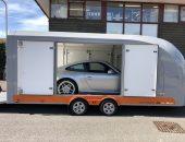 Porsche 911 covered transport