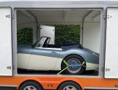 Enclosed trailer transport