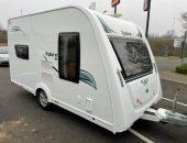Small touring caravan collection Fife
