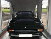 Covered car transport Ferrari 308