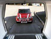Classic MINI enclosed car transport