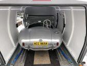 AC Cobra enclosed car transport