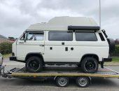 Campervan delivery VW T25