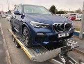 BMW X5 Corporate Delivery