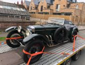 Classic Car delivery