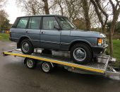 Classic Range Rover P38 delivery