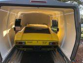 Lamborghini Miura SV enclosed car transport
