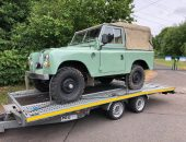 Collection and delivery of Land Rover Series 3