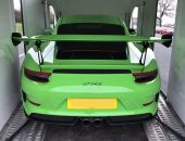Porsche 911 GT3 RS Enclosed Car Transport