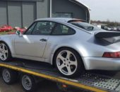 Porsche 911 car transport
