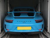 Porsche 911 GT3 Enclosed Transport