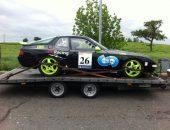 Porsche 968 Race Car delivery to RPM