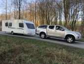 Touring Caravan delivery to repair centre JPG