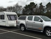 Twin Axle Caravan delivery Flinshire Banner