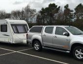 Twin Axle Caravan delivery Flinshire Banner