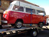 VW Campervan from Milton Keynes to Gateshead for pop top repair