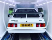 Enclosed car transport Ford Sierra RS