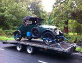 Vintage Car Delivery