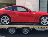 Ferrari super car transport