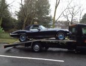 Classic car transport | Jaguar Etype Convertible