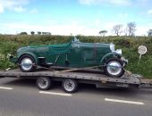 Classic Bentley delivery