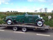 Classic Bentley delivery