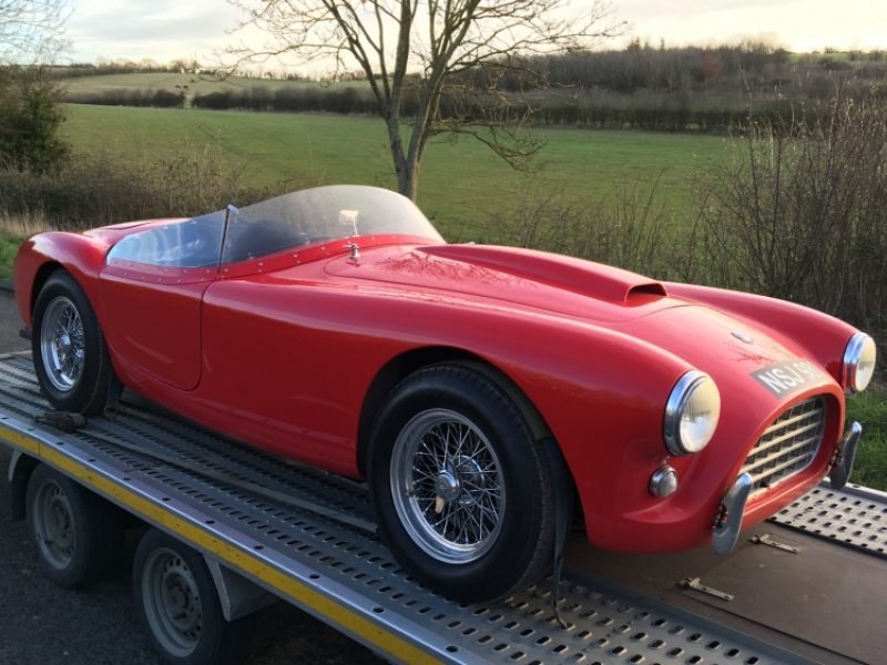 AC Ace Bristol Classic Race Car Delivery