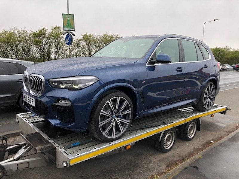 BMW X5 delivery
