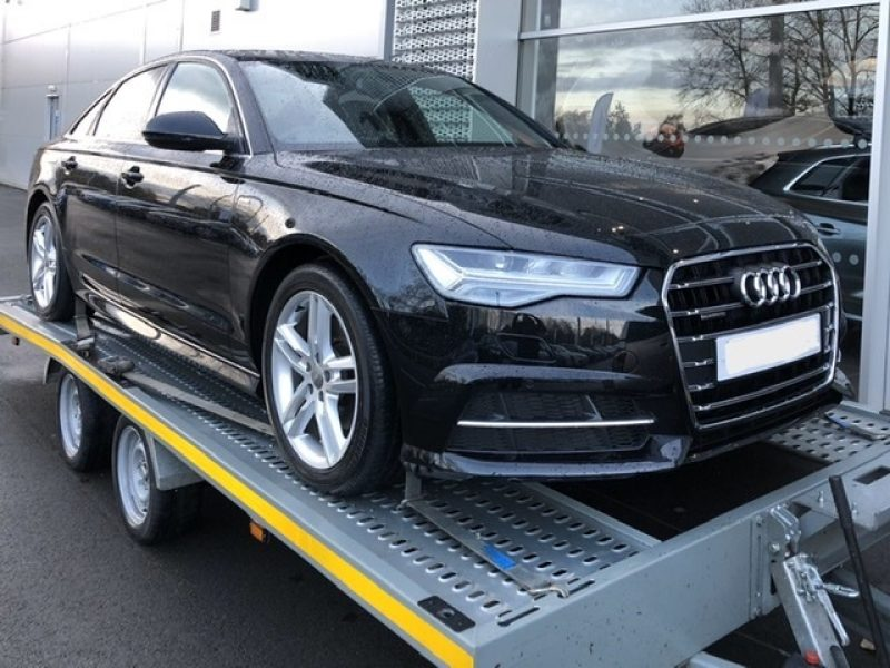 Audi A6 S Line collection from JCT600