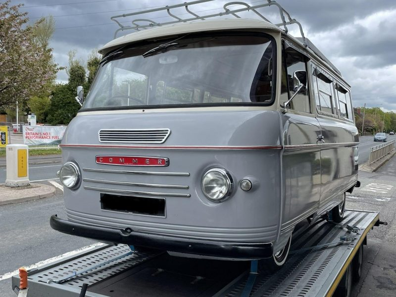 Commer delivery for export