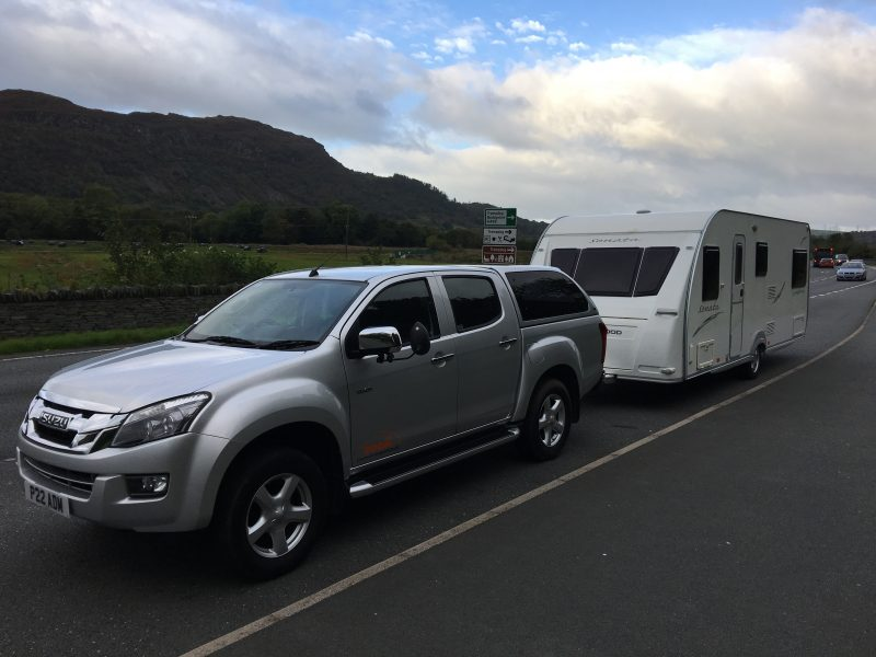 Touring Caravan Delivery to North Wales