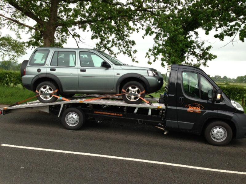 Land Rover Freelander delivery to Sheffileld