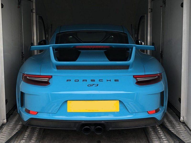 Porsche 911 GT3 Enclosed Transport