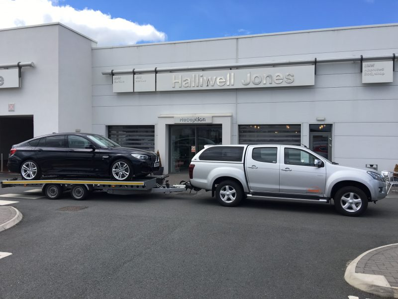 Halliwell Jones BMW delivery
