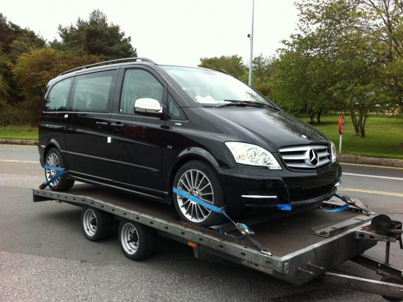 Mercedes Van Transport