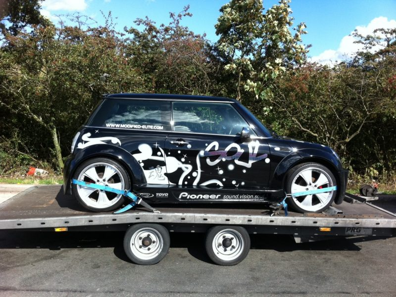 Delivery of MINI Cooper Hatch