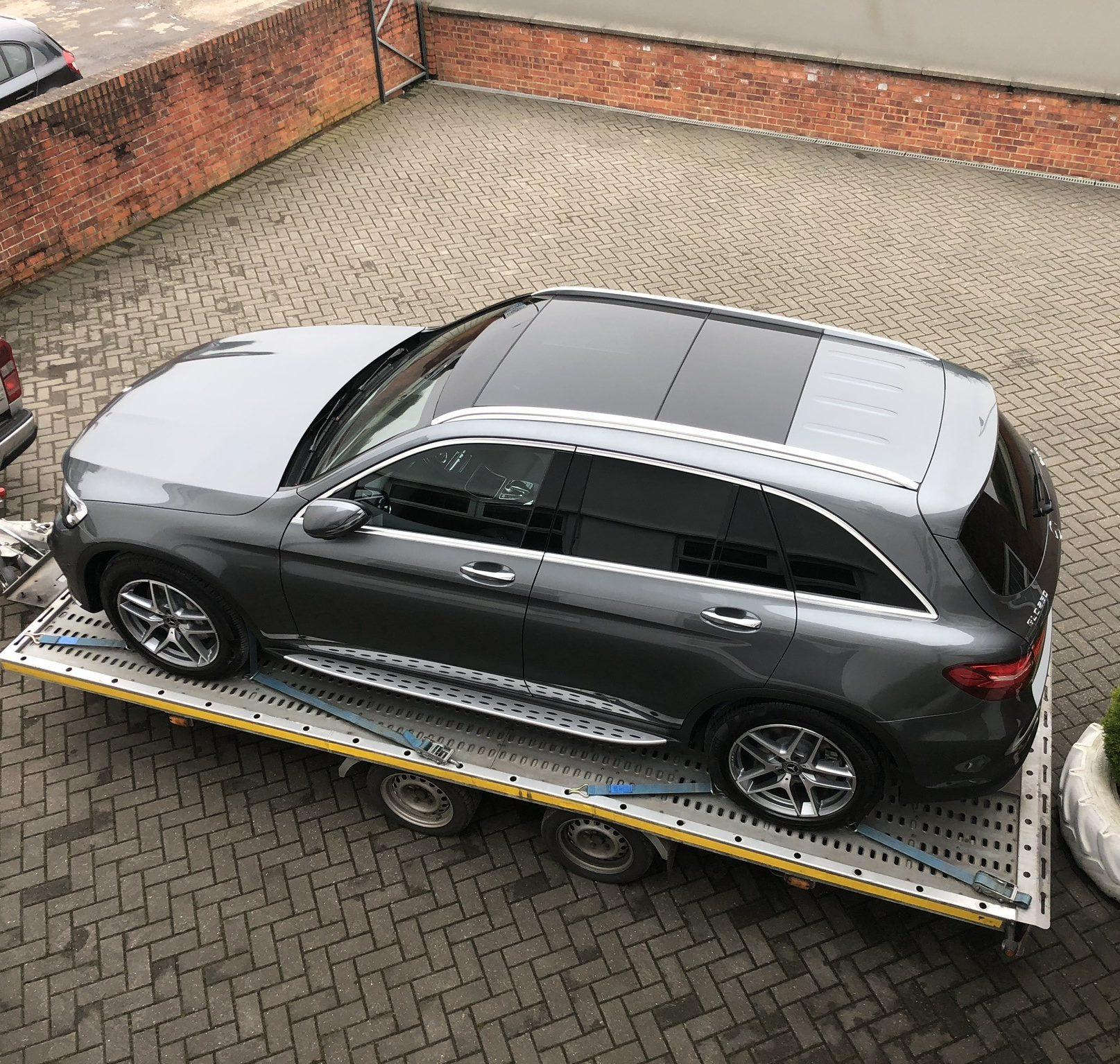 Vehicle Delivery of a new BMW X5 from Halliwell Jones Warrington