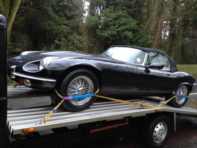 Jaguar E-type transport